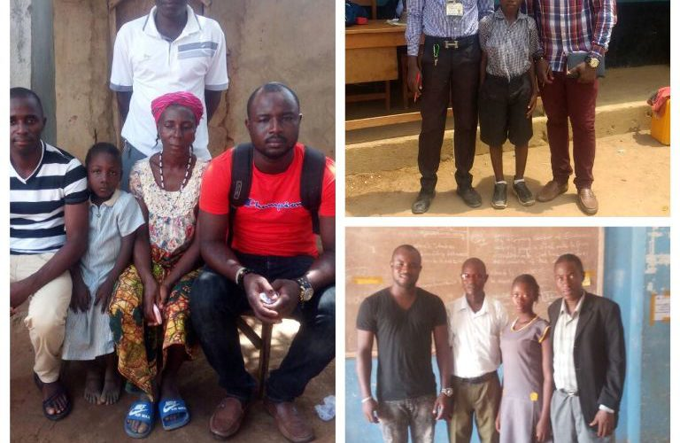 BLPSL Routine Monitoring at School and at Home – Waterloo in Western Rural District Sierra Leone