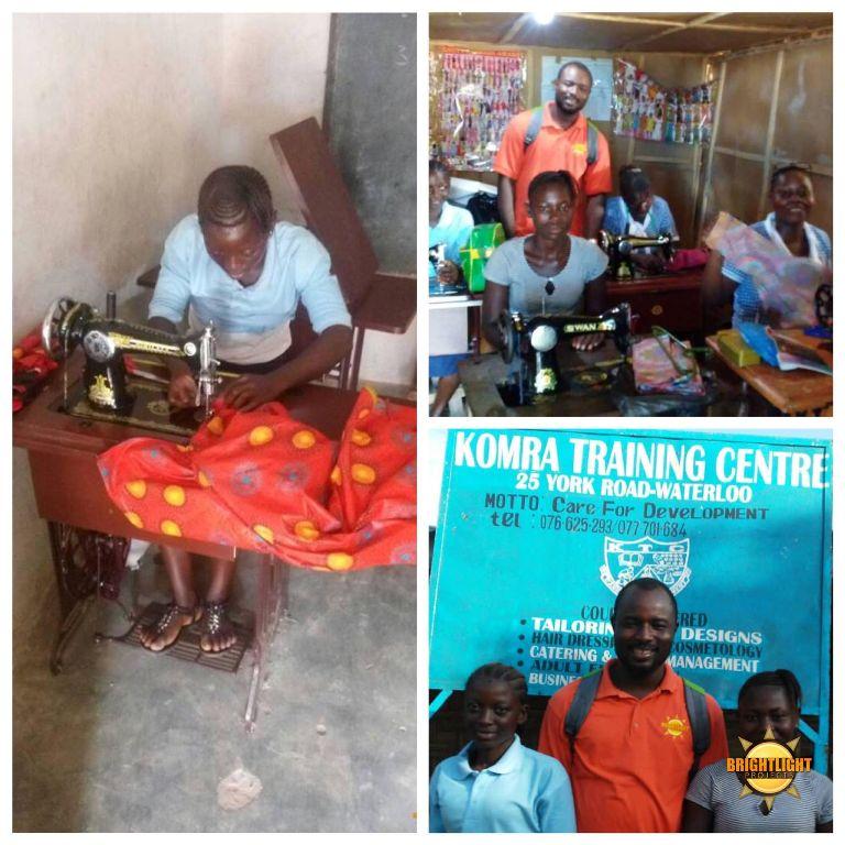 BLPSL Beneficiaries undergoing Vocational Skills Training in Waterloo – Sierra Leone