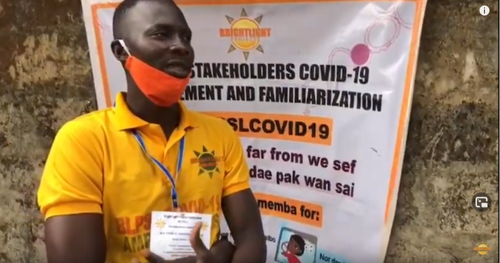 Upholding Sensitive Prevention and Control to Curtail the Spread of Covid-19 Virus in BLP Operational Communities in Sierra Leone – 2020