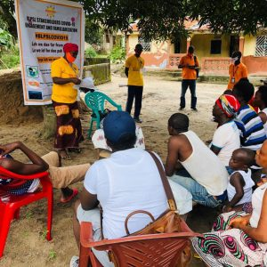 Phase 2 of Covid-19 Community Sensitization Campaign in BLP operational  Communities is A Milestone – Sierra Leone