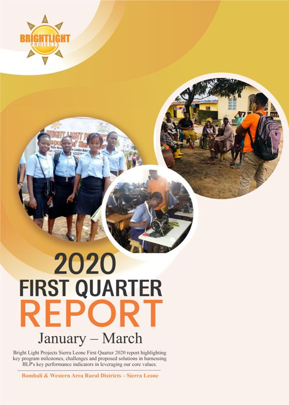2020 first quarter report