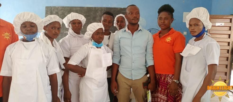 BLP Beneficiaries Take Final Year Practicals at S.L.O.I.C Makeni – Northern Sierra Leone