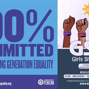 BLP Approved as Action Coalitions Commitment Maker on Gender Based Violence at Generation Equality Paris Forum by U.N Women